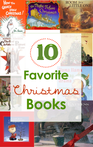 10 favorite childrens christmas books