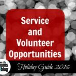Giving Back This Holiday Season: Service and Volunteer Opportunities