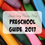 Iowa City Area Preschool Guide 2017