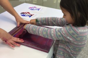 Screen Printing at the CRMA