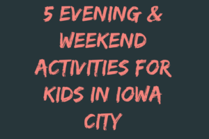 Evening and Weekend Activities