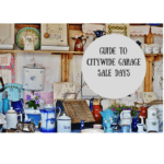 Guide to Citywide Garage Sale Days