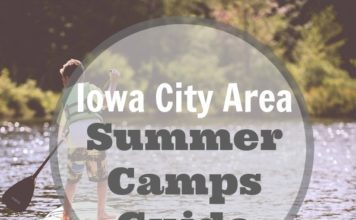 Iowa City summer camp camps guide