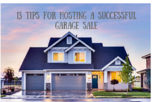 13 Tips for Hosting a Successful Garage Sale