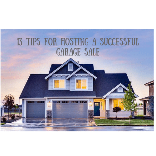 tips successful garage sale advice
