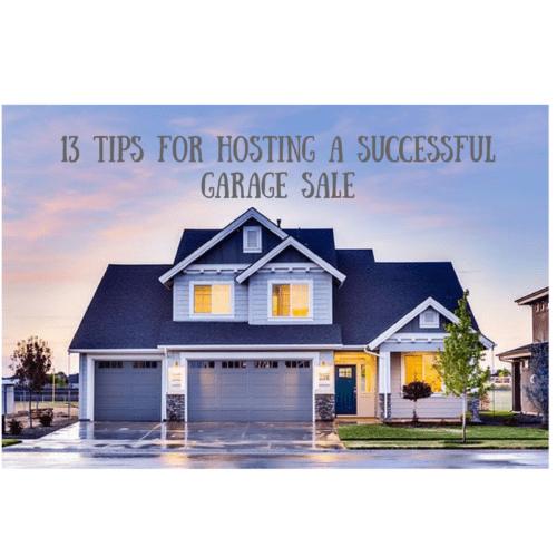 tips successful garage sale advice