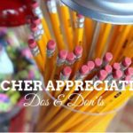 Teacher Appreciation Week – The Dos and Don'ts