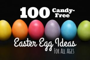 candy-free non-candy easter egg fillers ideas all ages