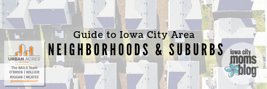 Iowa City area neighborhoods and suburbs