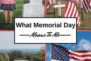 What Memorial Day means to me