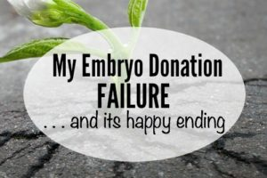 icmb embryo donation failure