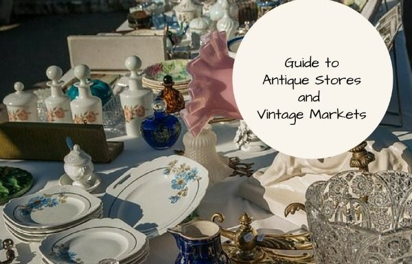 Guide to Antique Stores, Fall Markets, and Craft Shows
