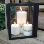 Thrifty and Trendy Dollar Store Decor: Picture Frame Lantern