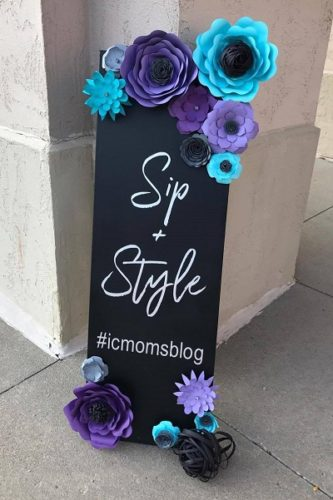 sip + style iowa city moms night out event recap donut giveaway
