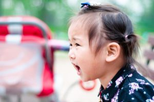 Toddlers coping with emotions