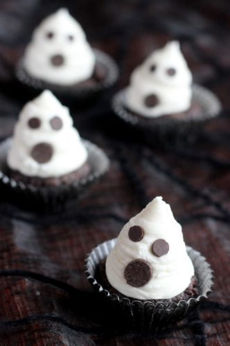 ghost cupcakes halloween treats kids