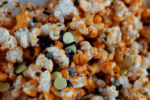 halloween treats kids kettle corn popcorn