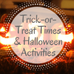 Iowa City Trick or Treat Times and Halloween Activities 2017