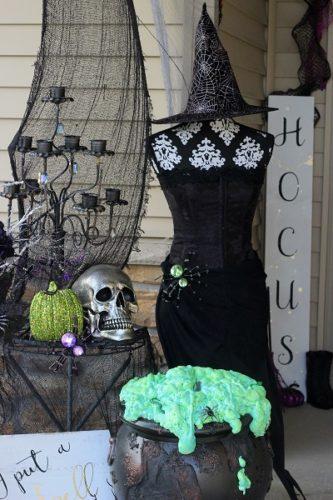 halloween cauldron witch DIY