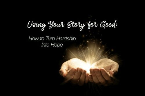 using your story for good