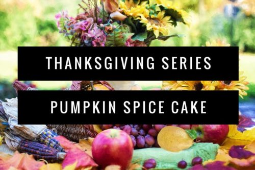 thanksgiving dessert recipes pumpkin spice cake egg-free