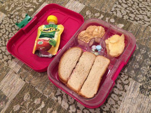 bento box lunch mom