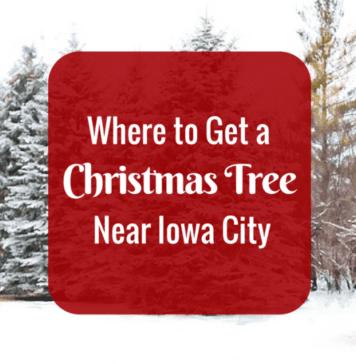 where to get a christmas tree near Iowa City: Christmas Tree Farms and stores