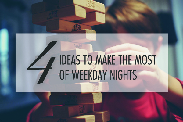 working mom hacks: weeknights