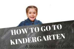 HOW TO GO TO KINDERGARTEN(1)