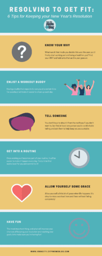 Resolving to get fit: 6 ways to keep your goals