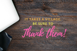 thank your village