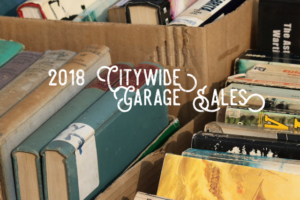 2018 Citywide Garage Sales