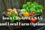 Guide to Iowa City Area CSA's
