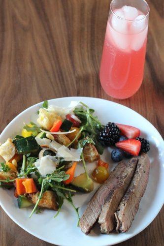 Spring Panzanella Salad Recipe