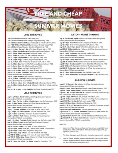 free movie websites august 2018
