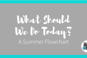 A Summer Activities Flowchart