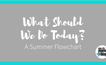 A Summer Activities Flowchart