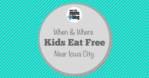 Before you go out to eat with your family, check our guide and see which local restaurants have free meals or deals for kids!