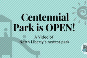 Centennial Park North Liberty Video