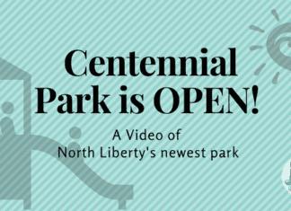 Centennial Park North Liberty Video