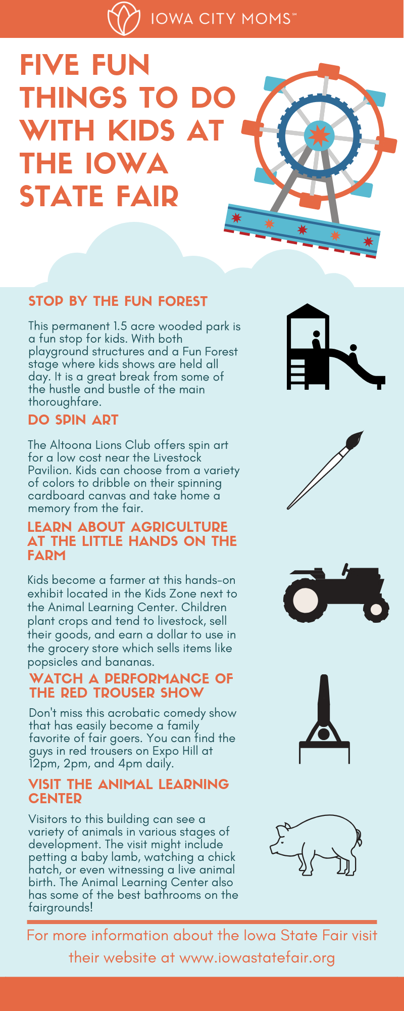 Fun things to do with kids at the Iowa State Fair