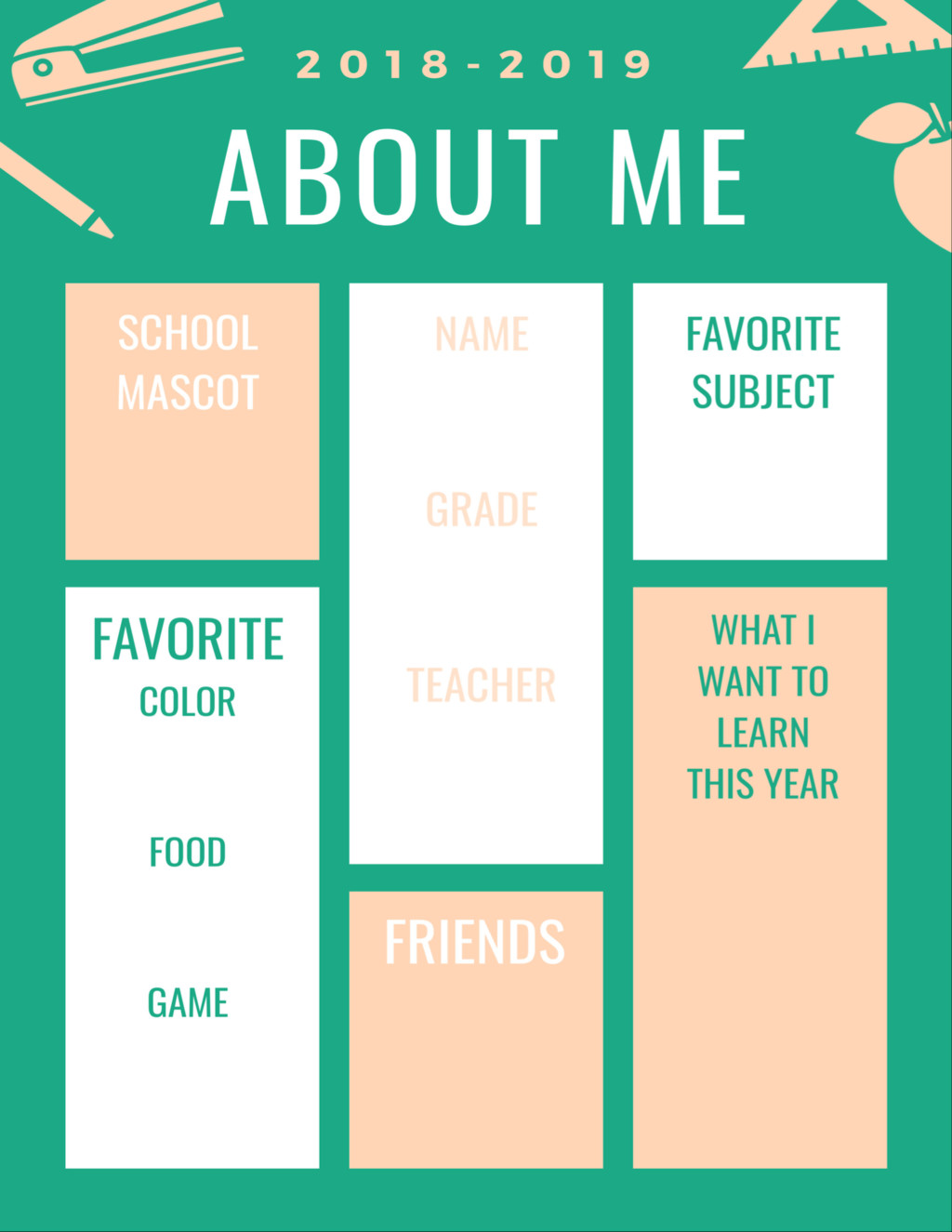 First Day of School Printables! Printable Signs for Photos