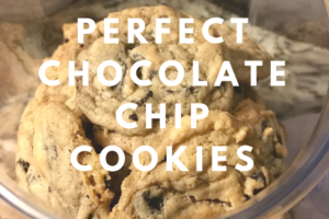 Perfect Chocolate Chip Cookie Blog Image