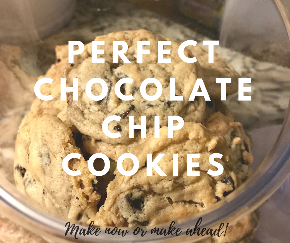 The most perfect chocolate chip cookies recipe ever