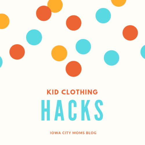 Kid Clothing Hacks for Organization, Laundry, and Saving Money