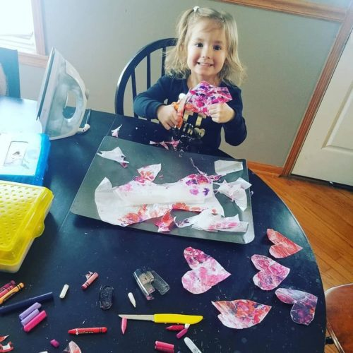 A Winning Craft Project for All Ages: Melted Crayon Stained Glass