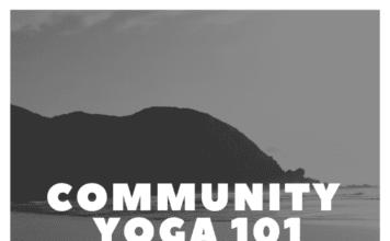 community yoga in the Iowa City area