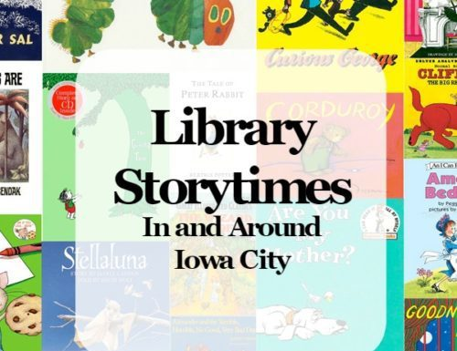 Library Storytimes in the Iowa City area
