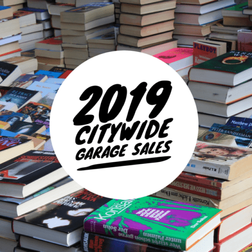 Citywide Garage Sale Days in the Iowa City Area