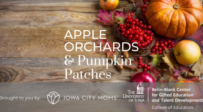 Apple Orchards pumpkin patches iowa city cedar rapids corridor